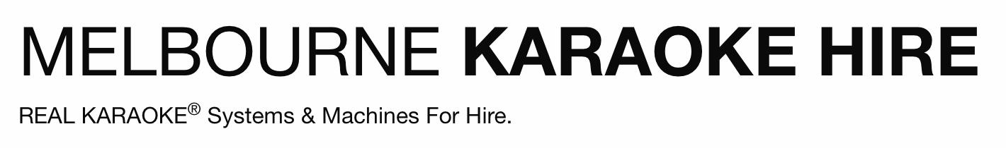 Melbourne KARAOKE Hire Logo